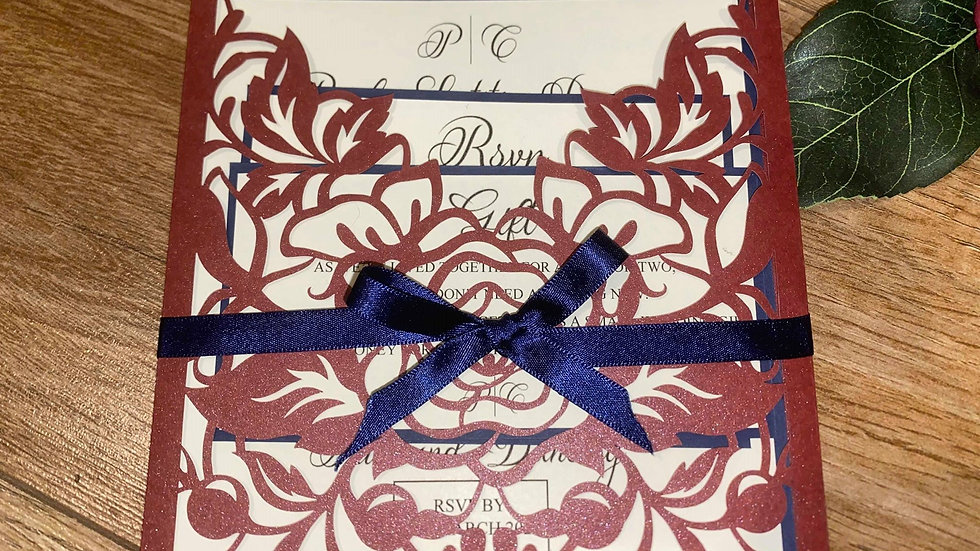 Rachel Sleeve Invitation
