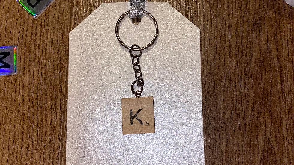 Scrabble Keyring Favour/Gift