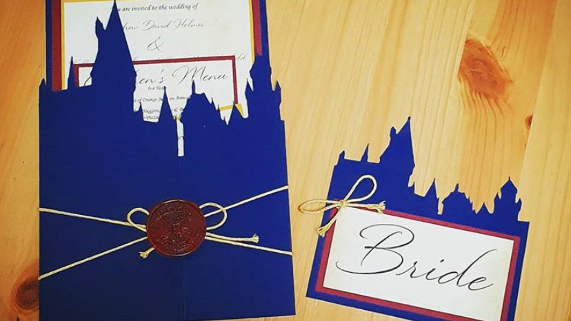 Harry Potter Styled Invitations