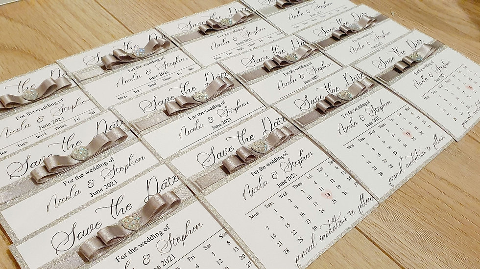 Deluxe Save the Dates