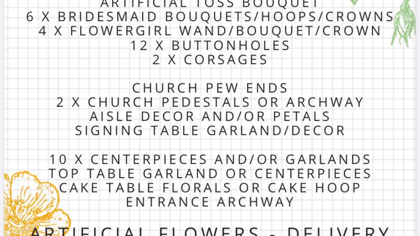 Platinum Floral Package