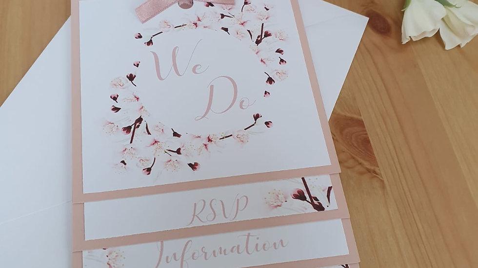 Blossom Layered Invitation