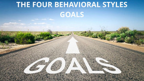 DISC - Newsletter #026 THE FOUR BEHAVIORAL STYLES - GOALS