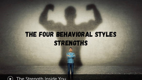 DISC - Newsletter #016 THE FOUR BEHAVIORAL STYLES - STRENGTHS