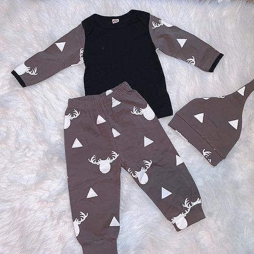 3 piece elk triangle pattern