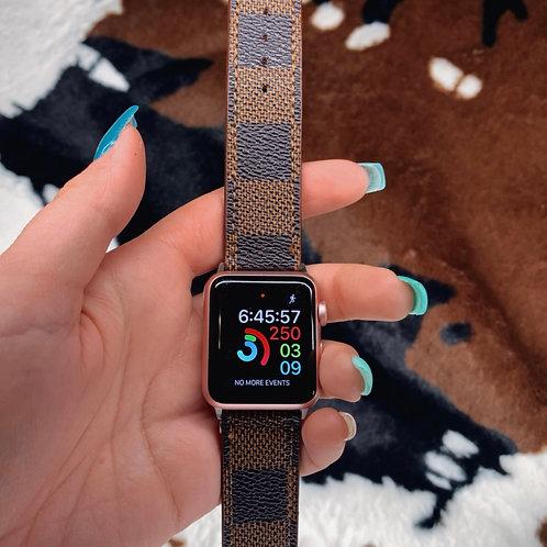 Checker Print Apple Watch Band