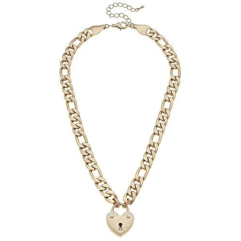 Whitney Padlock Necklace