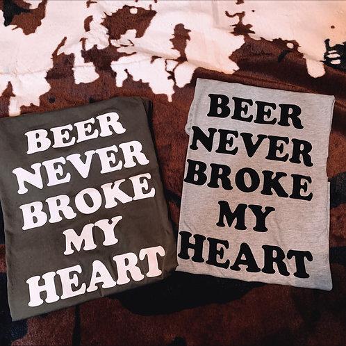 Beer Never Broke My Heart