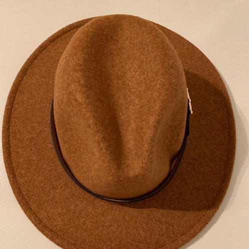 Khaki Leopard Panama Hat
