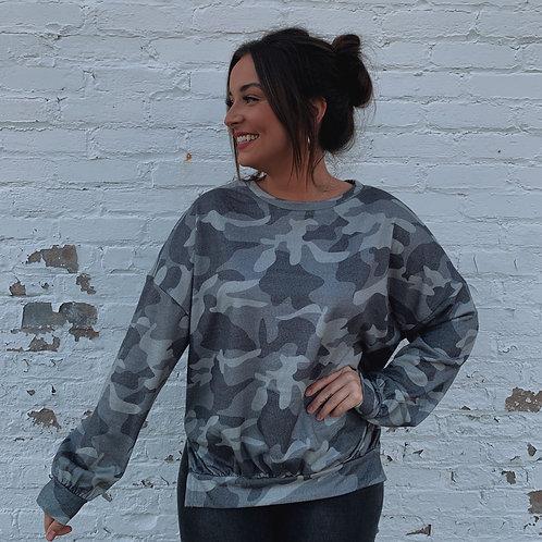 Camo Nights Sweatshirt