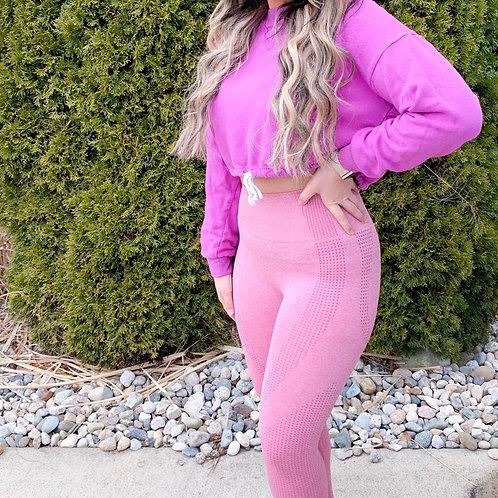 Pink Highwasted Leggings