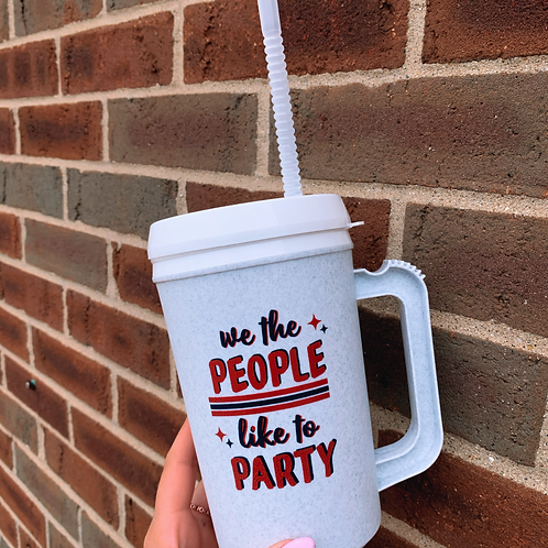 We the People like to Party Jug