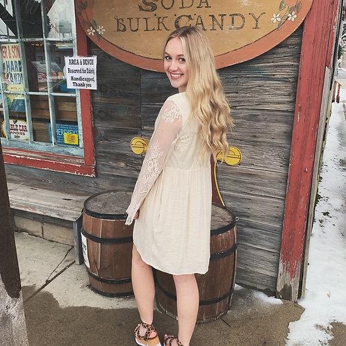 Ada Ivory Lace Dress