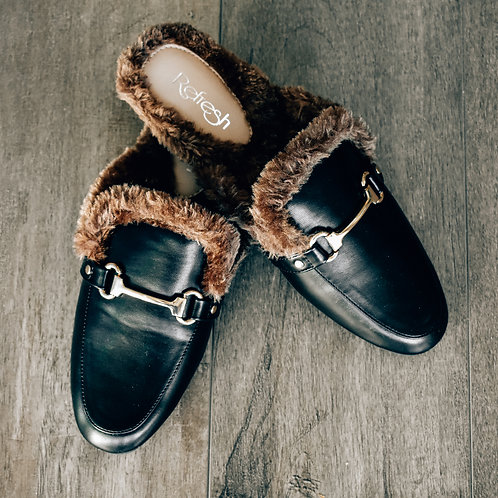 Lined Loafers