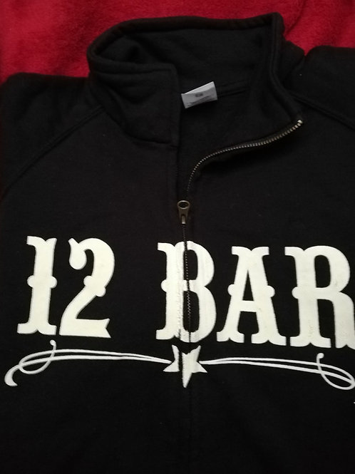 12 Bar Club Zipped Hoodie