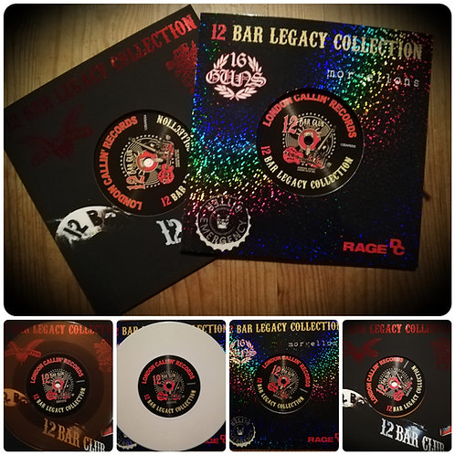 "12 Bar Legacy Collection Records 4 & 5 ""Special Edition"" Covers  Double Pack"