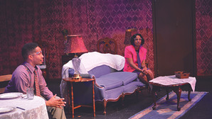 Love story backdrop to a historic tragedy in 'Greenwood' production.