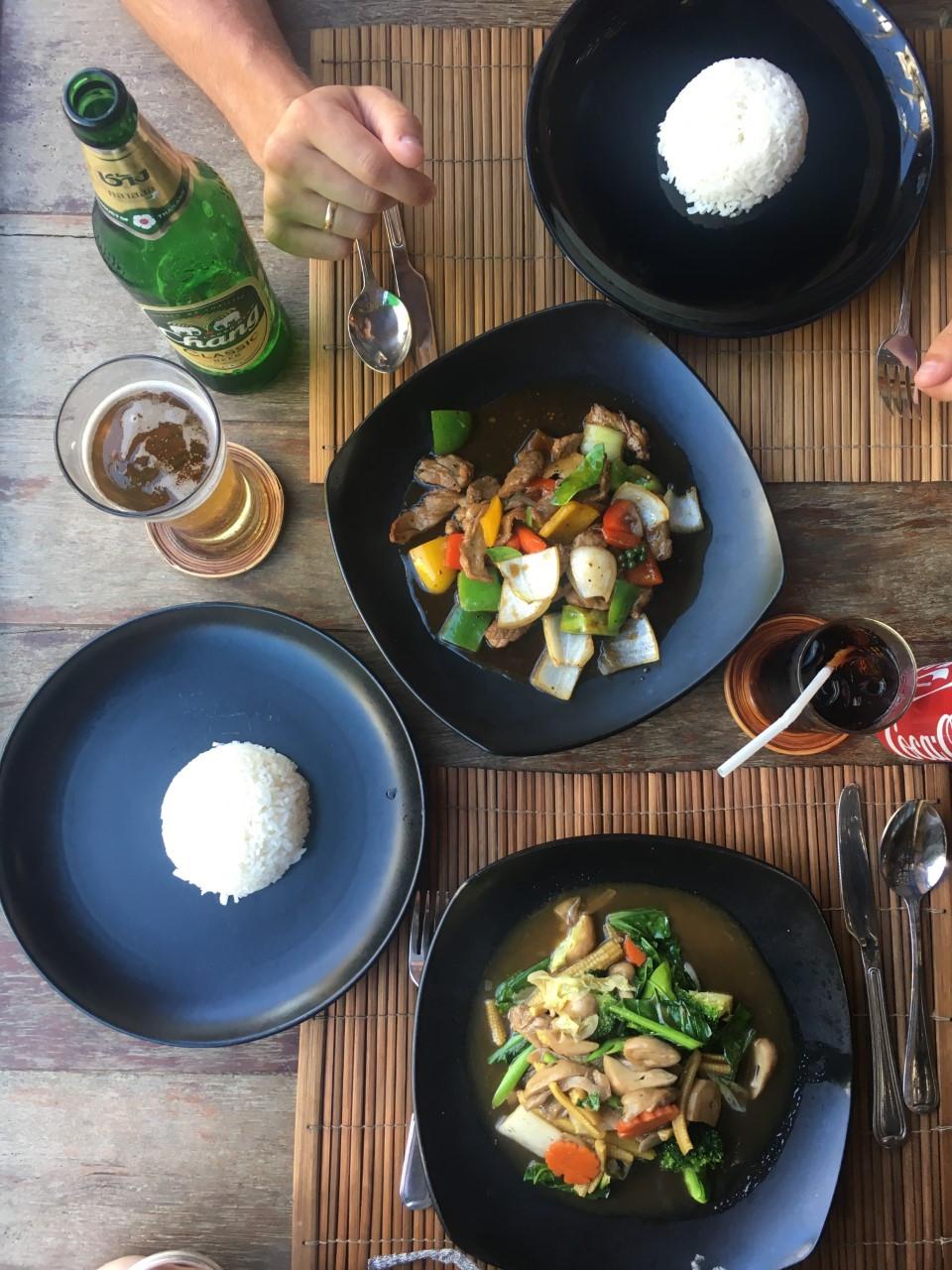 Vegan options Thailand
