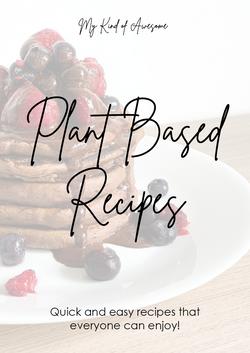 Plant Based Recipes eBook