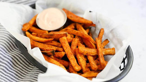 SWEET POTATO FRIES (V, DF, GF, NF)
