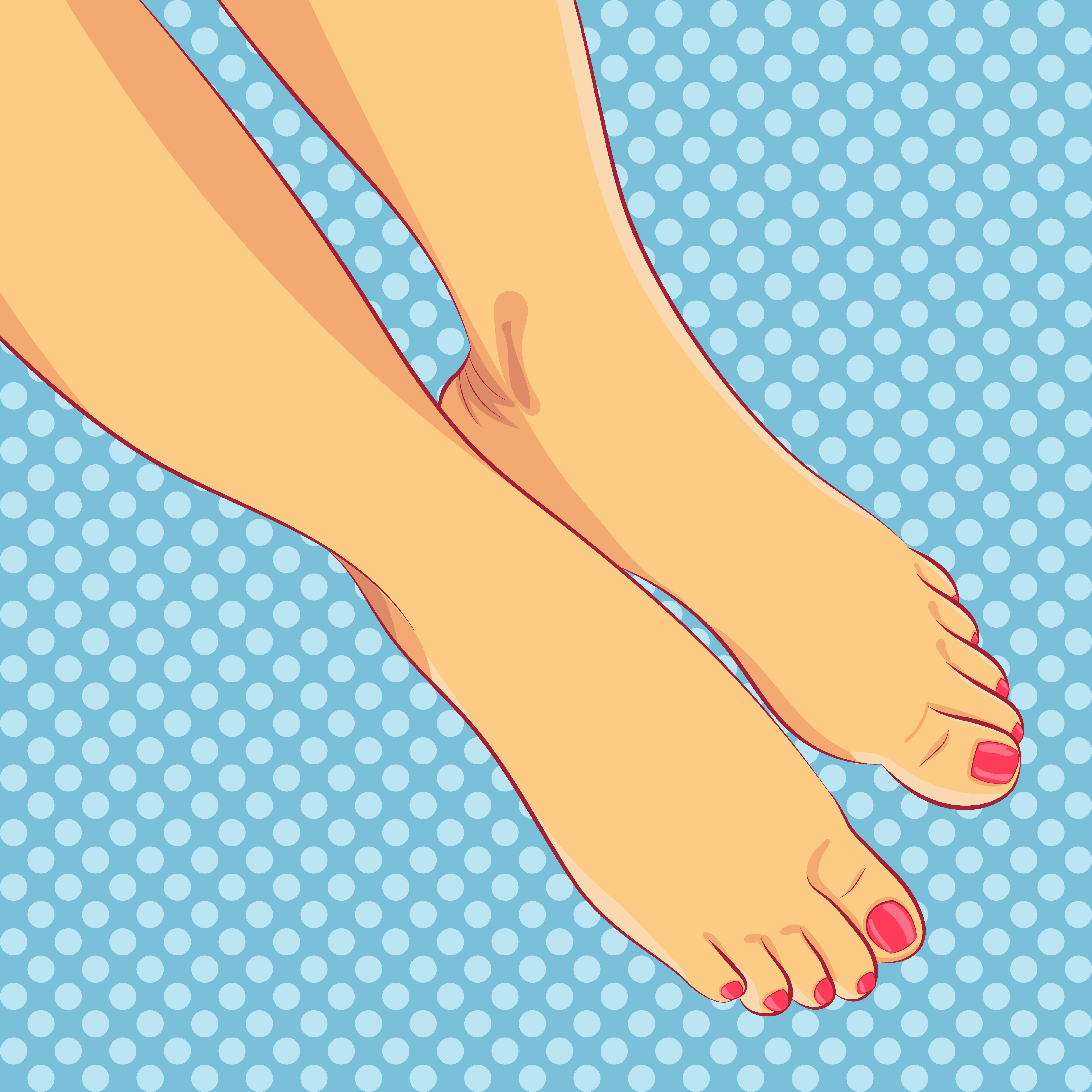 Med. & Kosmetische Fusspflege ohne Lack