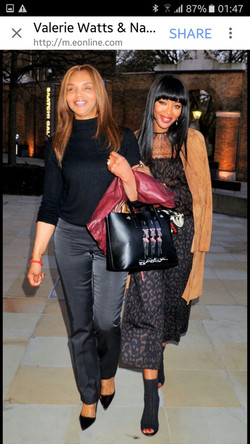 Valerie Campbell & her SaKaNaNa Bag