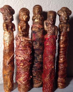 Statuettes pré-colombiennes