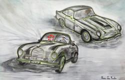 Aston Martin DB2 et DB4GT