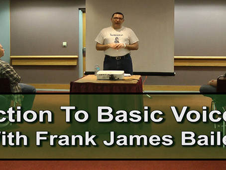 Introduction To Basic Voice Acting GCCC 2017
