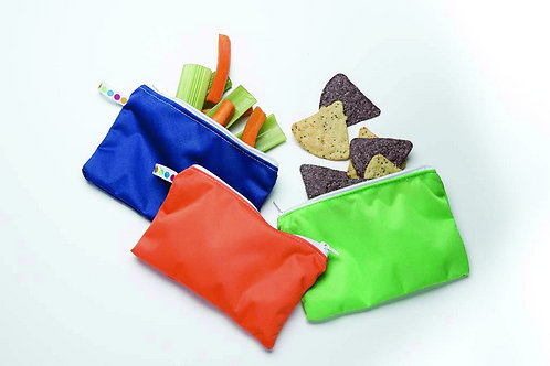 Reusable Snack Bags - Three Pack