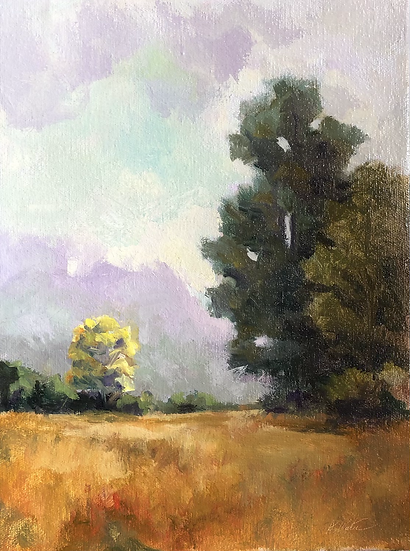 Summer Wheat,  12x9 oil