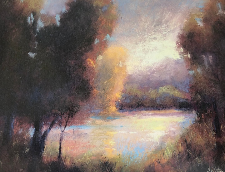 Notecard 10: Pond Light