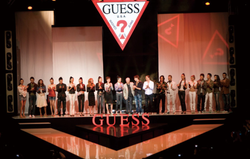 Guess Jeans Fashion Show