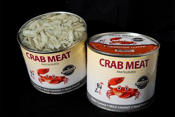 CRAB MEAT, PREMIUM LUMP, 454GM/CAN