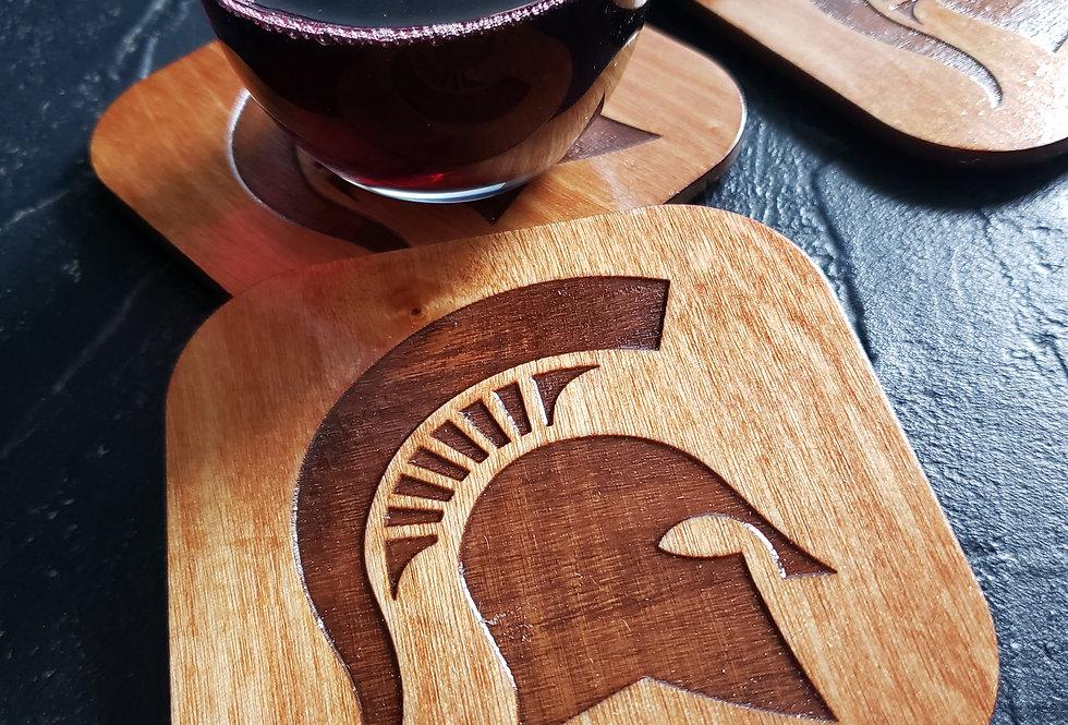 Spartan Head Coasters