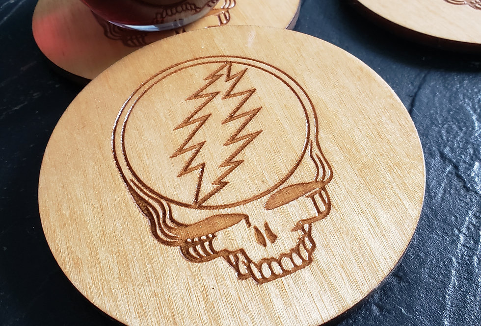 Stealie Coasters