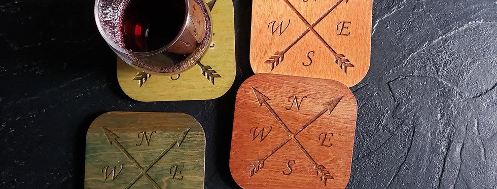 Cardinal Direction Coasters