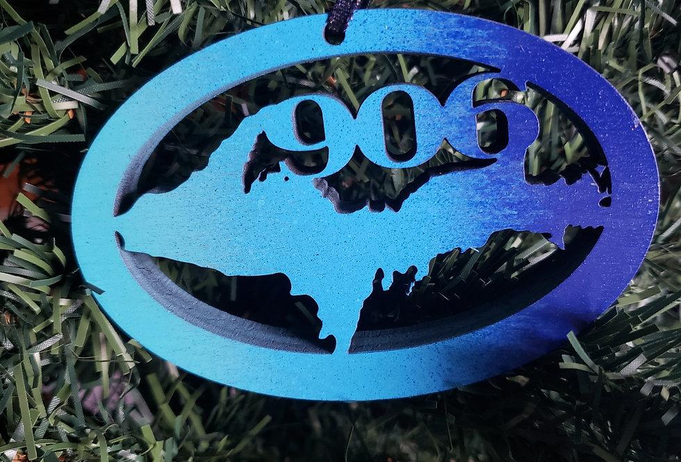"""906"" Yooper Ornament"