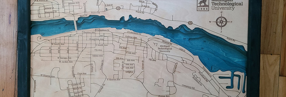 Michigan Tech/Keeweenau Waterway