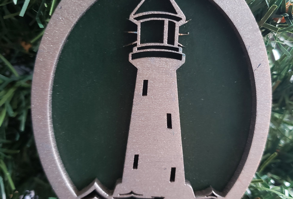 50 Lighthouse Ornaments for Angela