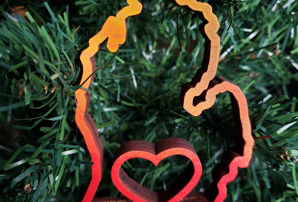 """Heart"" Ornament"