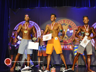 Men's Physique -1,80m IFBB Tahiti Nui  Cup 2015