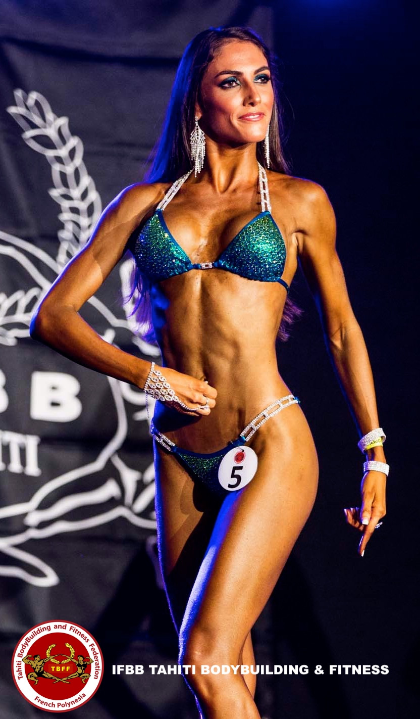 Vaiana RENOUF IFBB Tahiti Bikini Fitness Athlete
