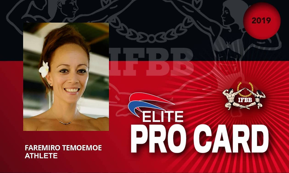 Temoemoe FAREMIORO-IFBB Elite Pro Bikini Fitness