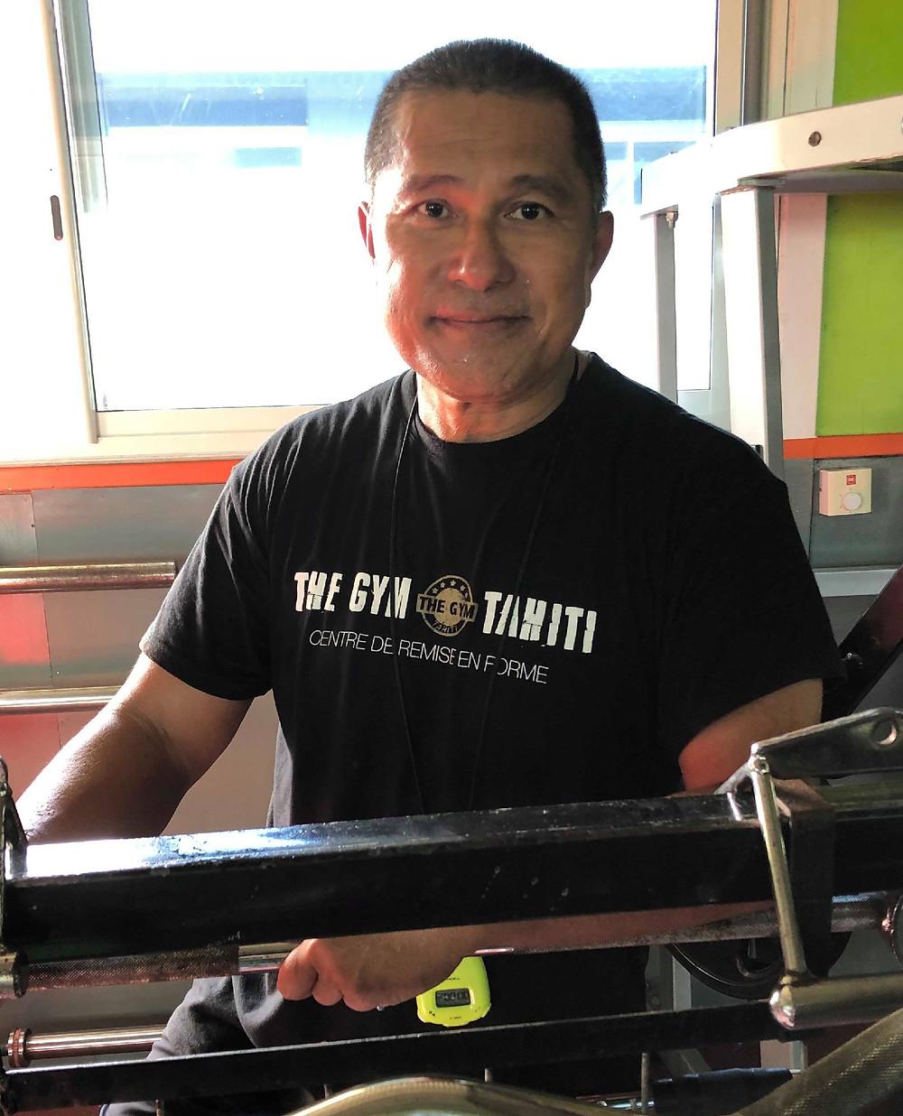 "Jerry YEUNG Préparateur Physique ""The Gym Tahiti"""
