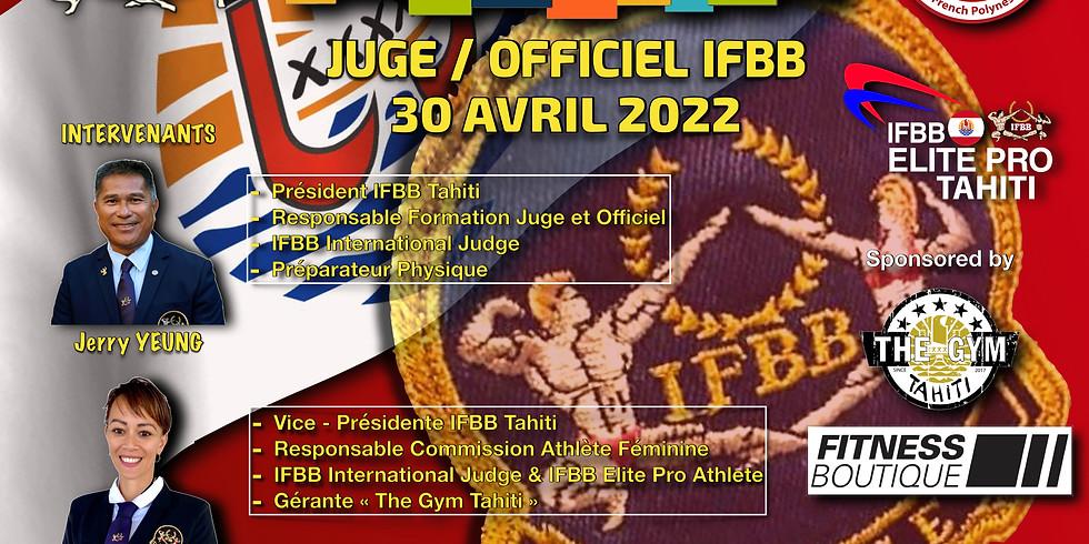 FORMATION JUGE ET OFFICIEL IFBB
