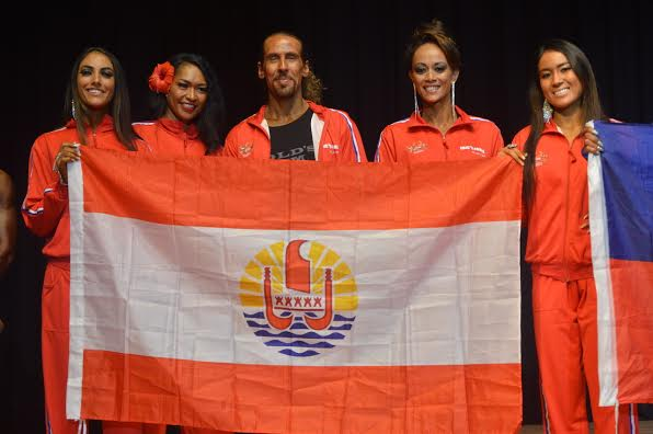TEAM IFBB TAHITI 2018