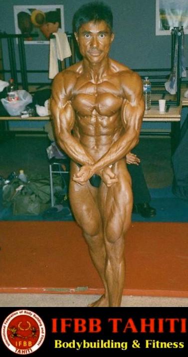 Jerry YEUNG Champion de France de Bodybuilding  IFBB
