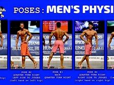 Le règlement sportif en Men's Physique pour 2016