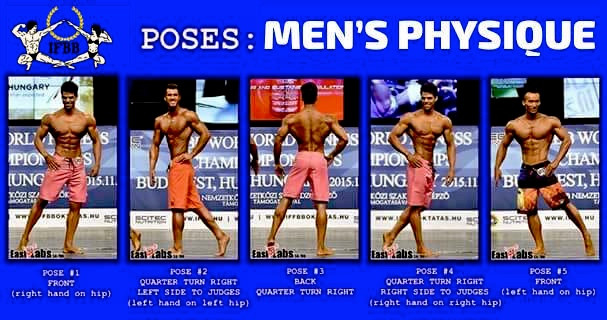 IFBB POSES MEN'S PHYSIQUE